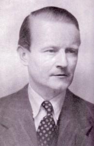 Harald Damsleth fotografato nel 1941