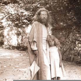 Karl Wilhelm Diefenbach con il figlio Helios
