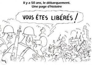 """Legenda vignetta : """"Siete liberi!"""""""